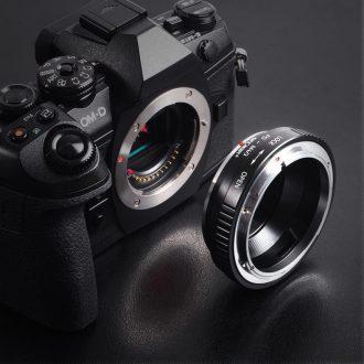Преходник от Canon FD към Micro 4/3
