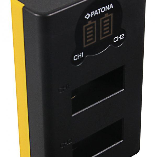 Двойно USB зарядно за GoPro Max